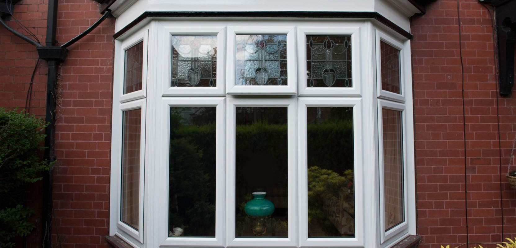Photo of a bay window