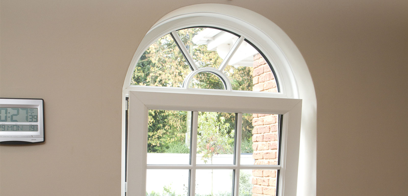 Photo of a tilt and turn window