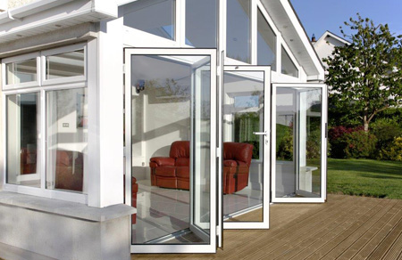 Photo of bi-folding doors