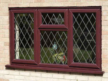 Photo of a casement window