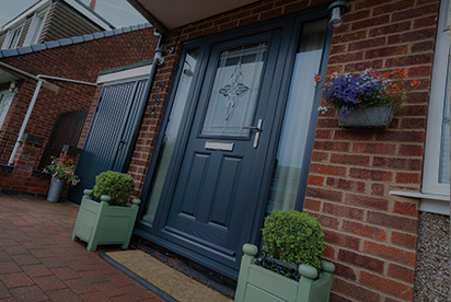 Photo of a composite door