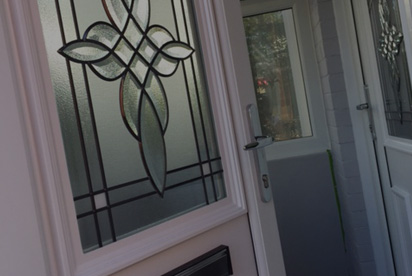 Photo of a PVCU door
